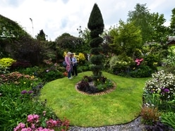 Farewell for stunning garden's final showcase in wife's memory