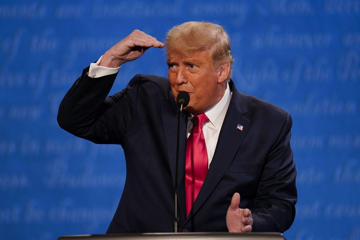 'Tango man' Donald Trump