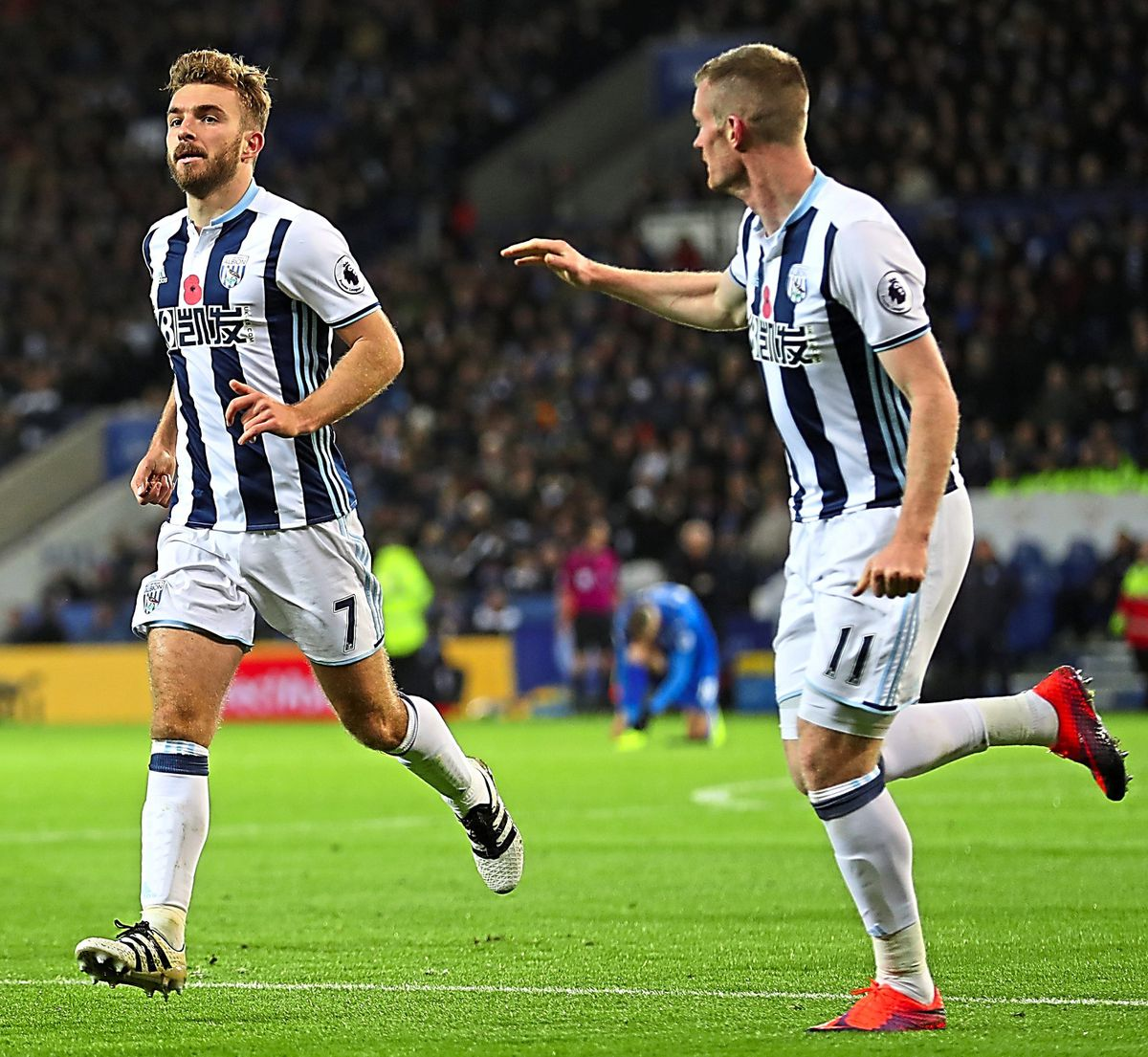 James Morrison and Chris Brunt have 676 appearances between them. (AMA)
