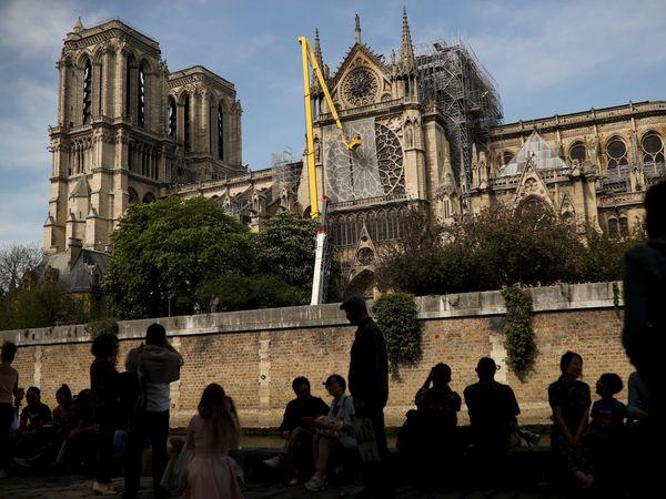 France Notre Dame Spire