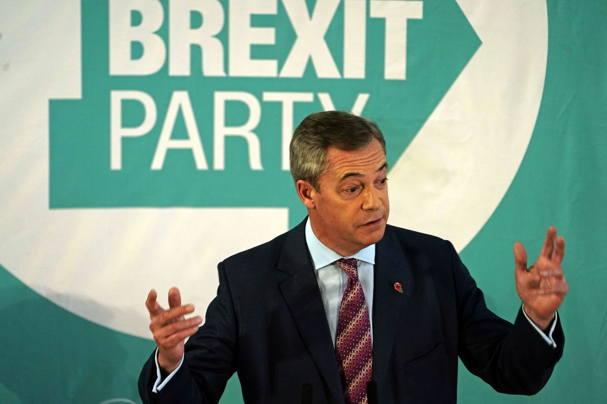 Nigel Farage has pulled out of two events in the Black Country