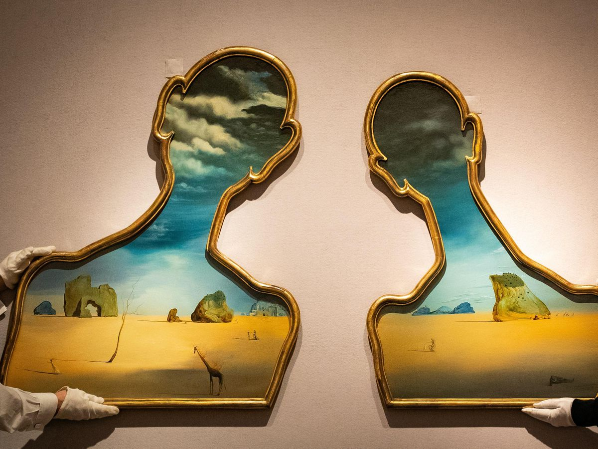 Dali painting valued at up to £10 million to be auctioned ...