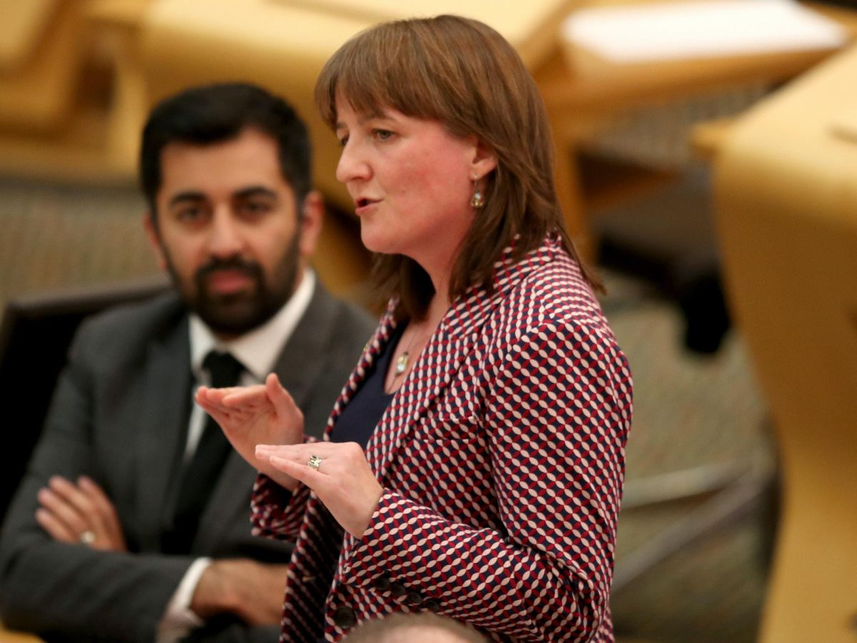 Children's minister Maree Todd