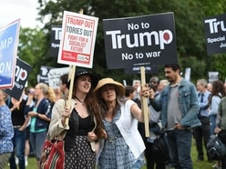 Protesters to line streets as Donald Trump heads to Downing Street