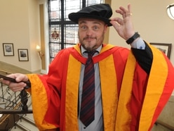 WATCH: Al Murray delighted to join 'very clever' Wolverhampton graduates