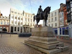 Wolverhampton city centre during the third lockdown