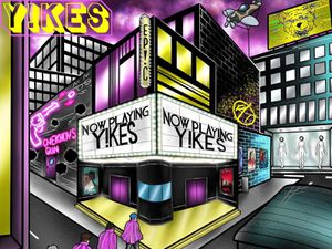 The EP artwork for Y!kes's Everything Pointless Is Correct (Ep!c)