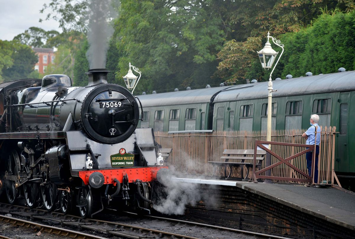 The Severn Valley Railway is today a top regional attraction