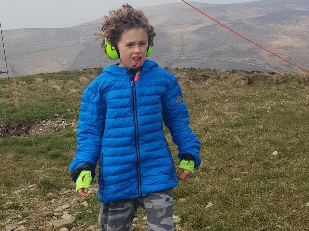 Daniel Shiels, 11, is raising money for an autism charity