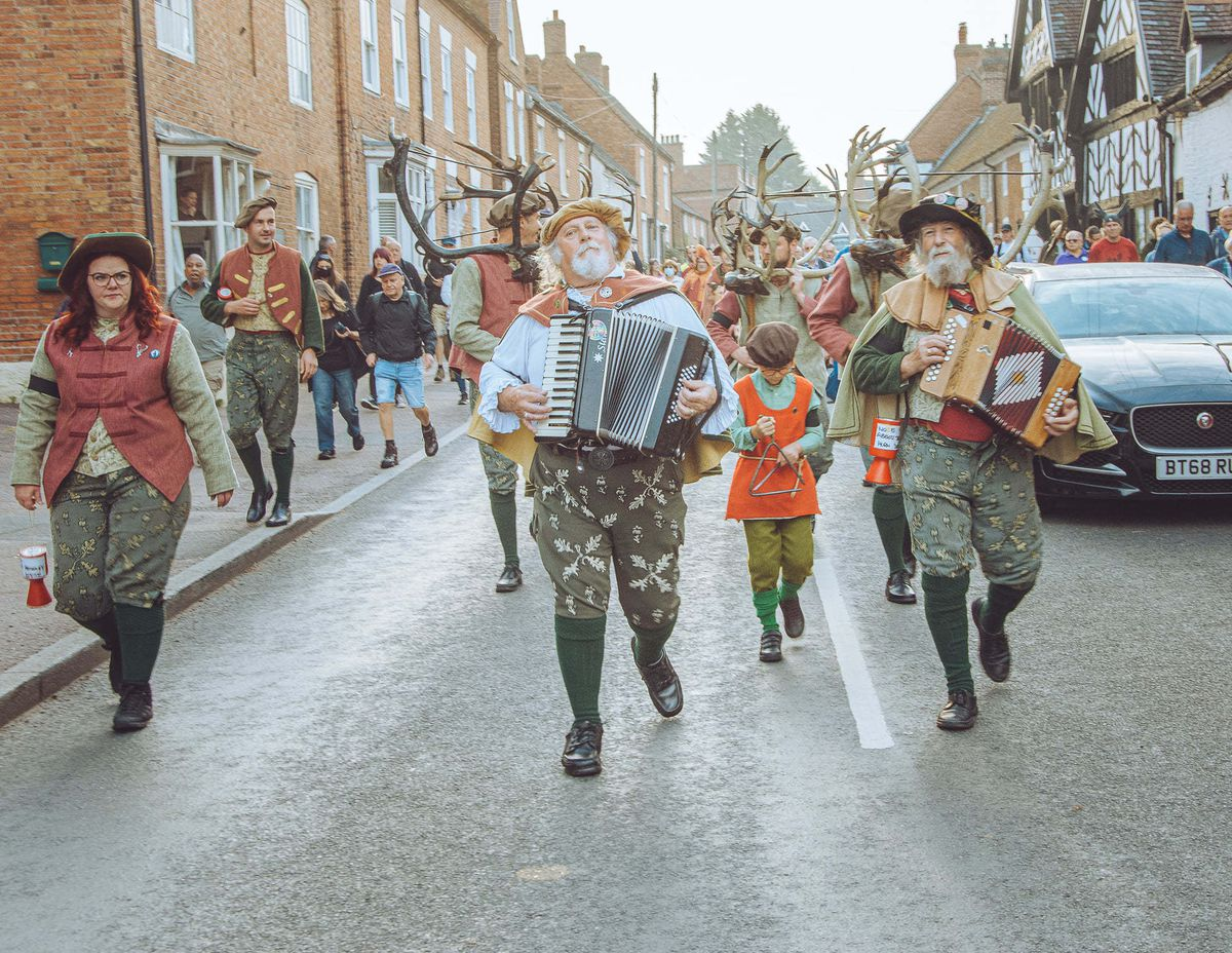 Abbotts Bromley Horn Dance. Photo: Tony Gaskin