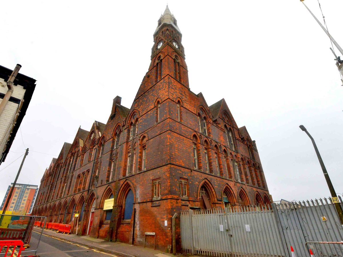 The Kenrick Building in West Bromwich has been empty for more than 20 years
