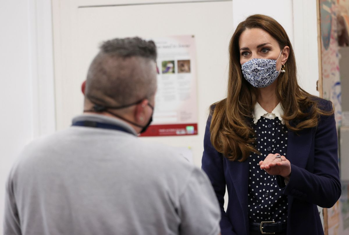 The Duke and Duchess of Cambridge at Base25 in Wolverhampton