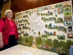 Intricate embroidery of Cannock Chase nearly complete after four years