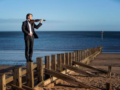 Driftwood violin to be played at marine conference