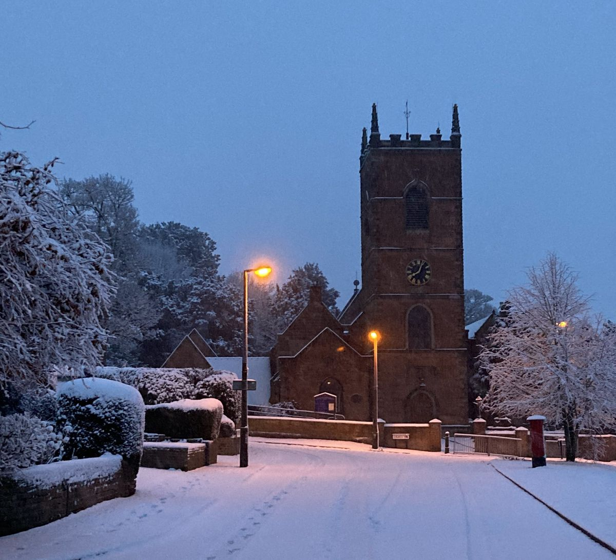 Andrew Harrison shared this photo of St Bart's in Penn