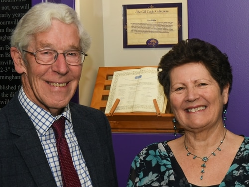 Cadbury curator's collection goes on display to the public at Cadbury World