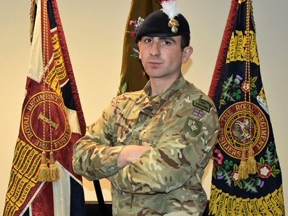 Fusilier Sam Brownridge has died aged 23