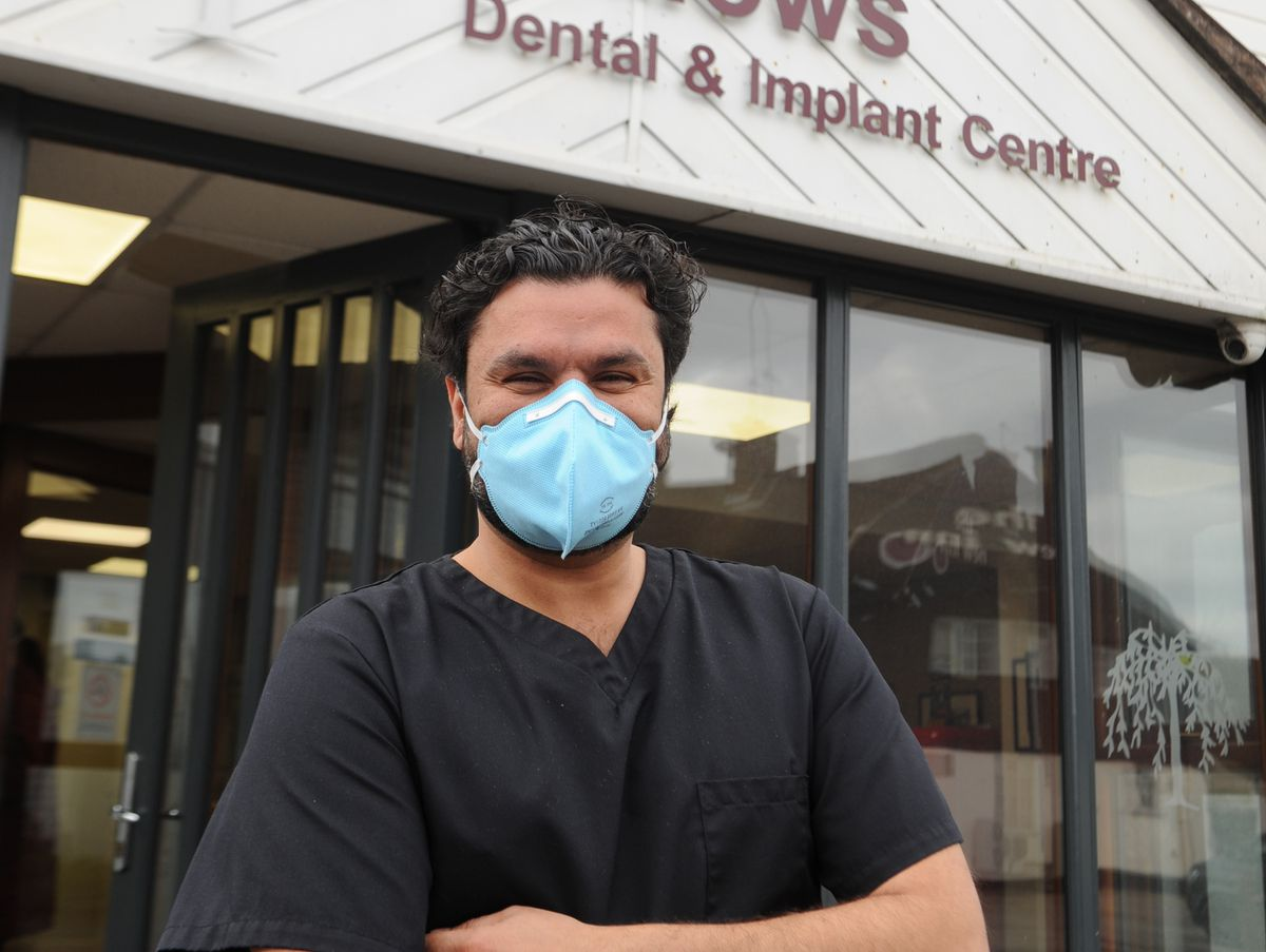 Practice owner and principal dentist Neel Barchha at Willows Dental & Implant Centre, Wombourne