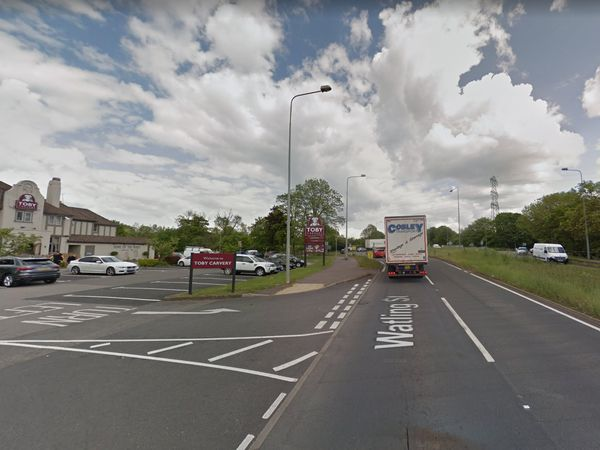 The A5 in Norton Canes, near to the Toby Carvery. Pic: Google Street View