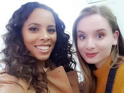 Cannock illustrator works on Rochelle Humes's new book