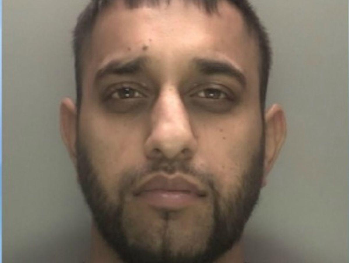 Raja Malik. Photo: West Midlands Police