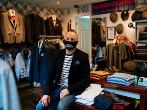 Mark Hodgkiss of Mode Menswear said the first week back open had been like a week in December