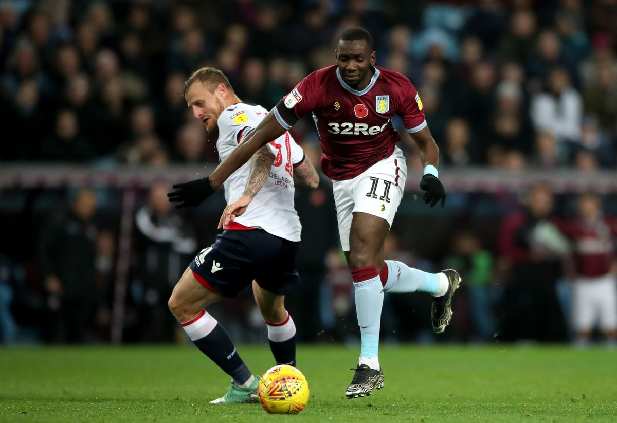 Yannick Bolasie has been limited to substitute appearances so far for Aston Villa