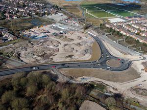 The progress of the Stafford Western Access Route in Stafford centre