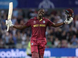West Indies' Carlos Brathwaite