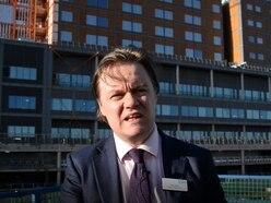 Carillion crisis: 'Weeks or longer' before work may restart on Midland Met hospital