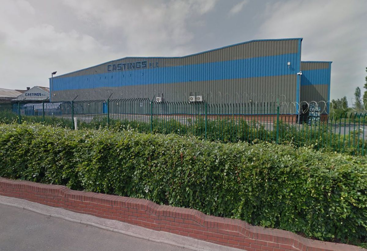 Castings' headquarters on the Lichfield Road in Brownhills