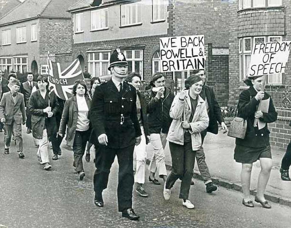 Hasil gambar untuk smithfield porters enoch powell