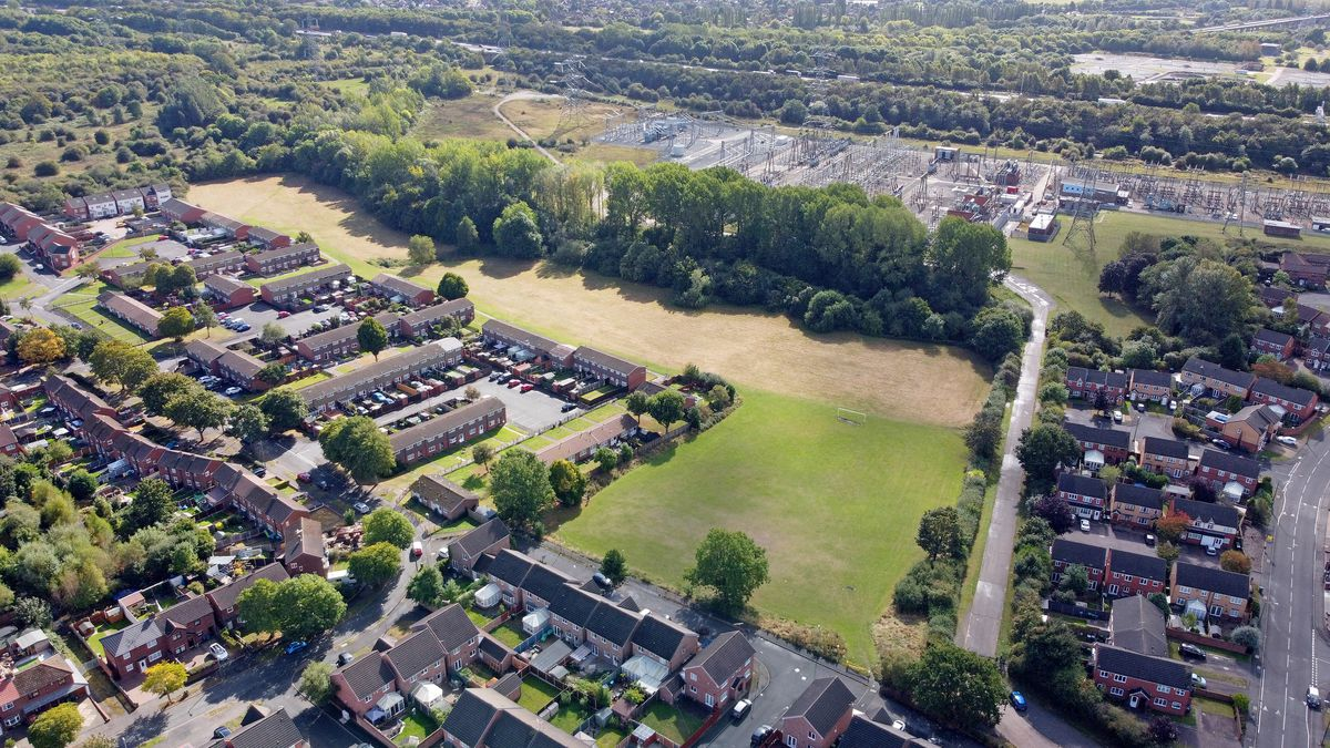 Land next to Painswick Close Sub Station, near the Yew Tree area of Walsall could go