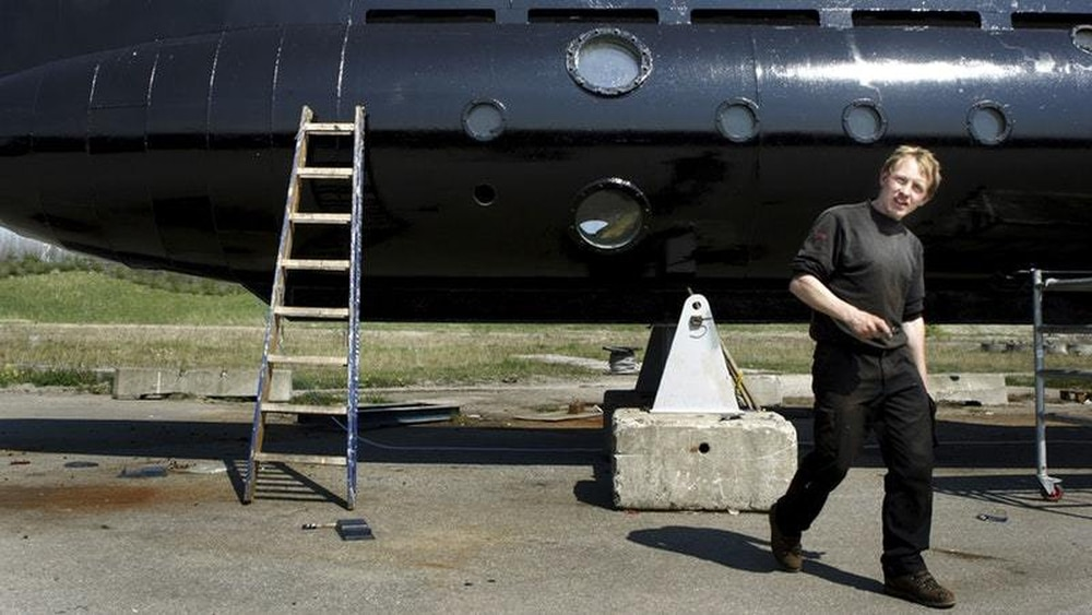 Made submarine owner held over murder of missing passenger
