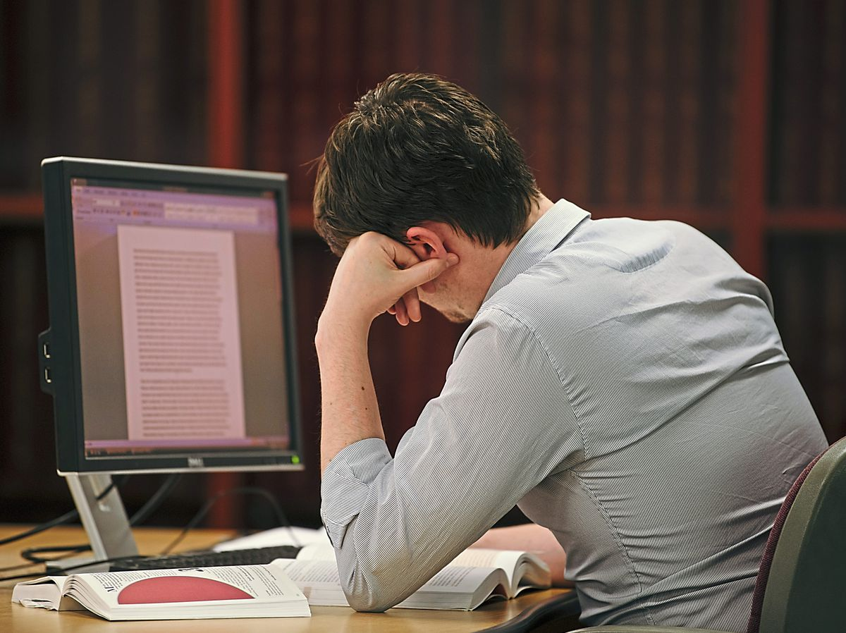 Hours spent poring over essays are to be expected when students apply to university – but some buy in pre-written essays