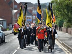 Mourners line the streets to say goodbye to war hero George - gallery