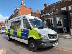 Wednesbury's Golden Cross pub cordoned off after men injured in fight