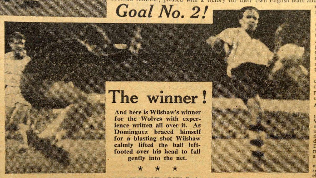 Wilshaw's winner described in detail
