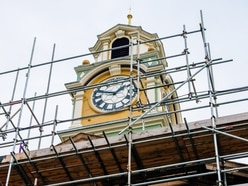 Historic Smethwick Council House clock chimes again after restoration