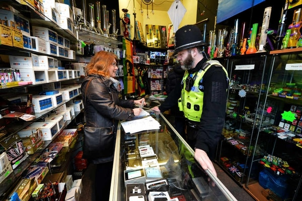 Legal highs: Poppers taken from Wolverhampton city centre shop in