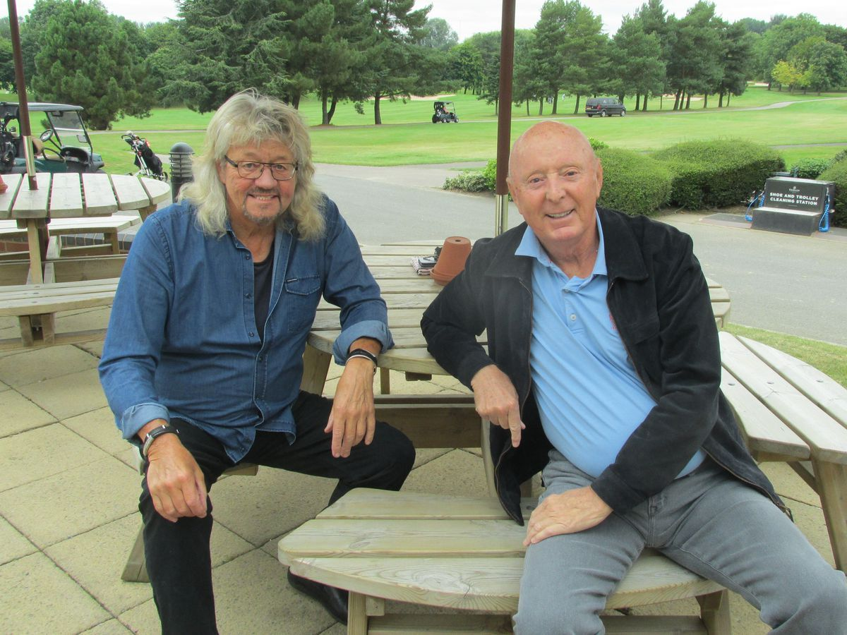 Bev Bevan and Jasper Carrott will be performing their show Stand Up and Rock at the Lichfield Garrick Theatre next year.