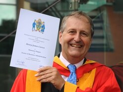 Wolverhampton businessman Henry Carver receives honorary degree