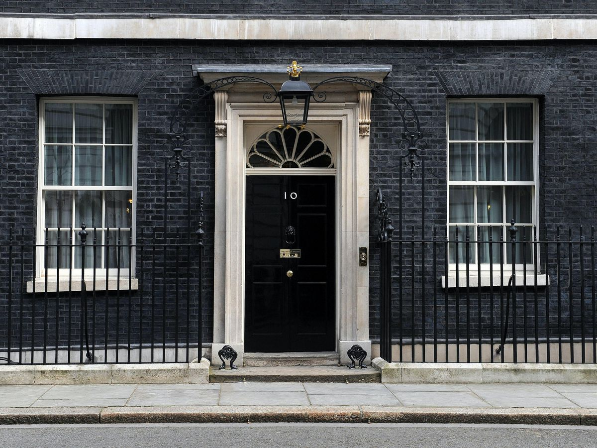 Downing Street stock