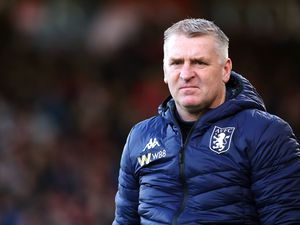 File photo dated 01-02-2020 of Aston Villa manager Dean Smith. PA Photo. Issue date: Wednesday October 21, 2020. Dean Smith admits Aston Villa s flying start to the season has exceeded their expectations, but insists their  feet are firmly on the ground . See PA story SOCCER Villa. Photo credit should read Mark Kerton/PA Wire.