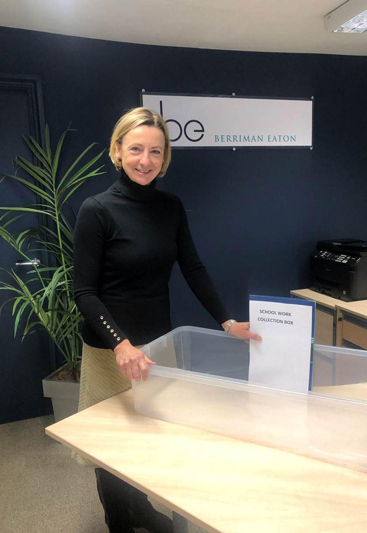Caroline Eaton, director of Berriman Eaton