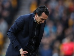 Unai Emery: Wolves deserved win as they were better than us