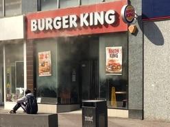 Six fire crews battle blaze at Walsall Burger King