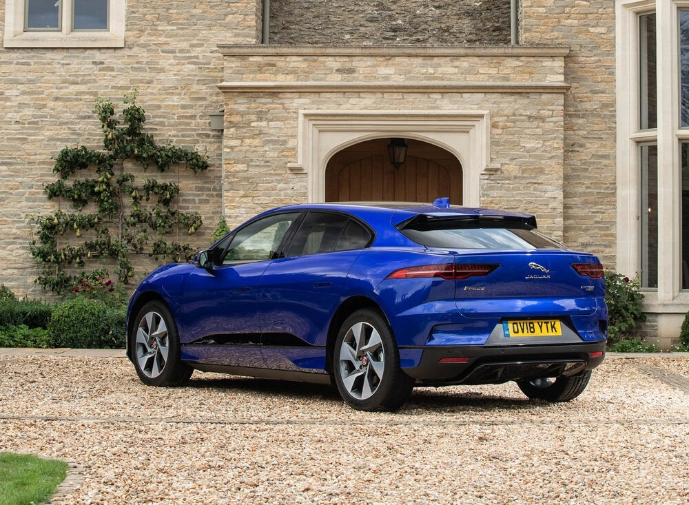 Sales of the all-electric Jaguar I-PACE were strong in January