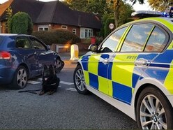 Two people arrested after car chase in Birmingham