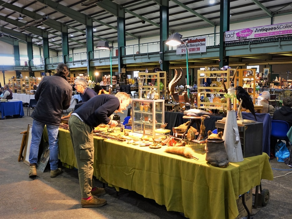 Bingley Hall Antiques and Collectors Fair returning to Staffordshire